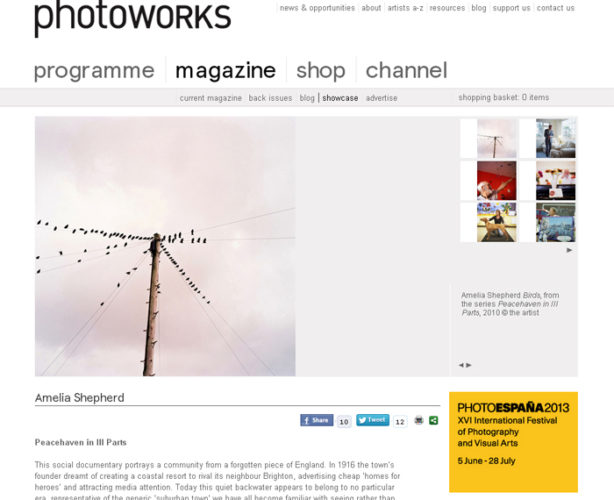 Photoworks review of Peacehaven in III Parts