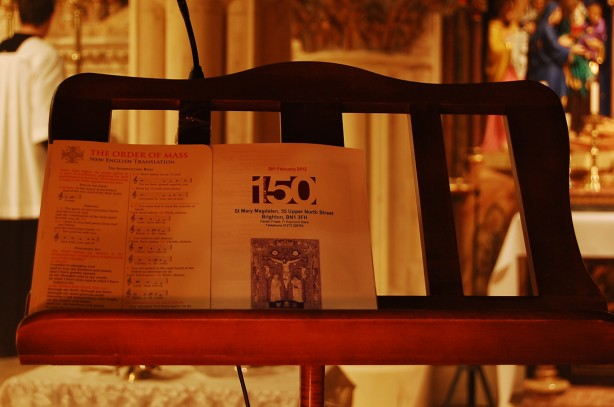 High Mass – 150th Celebrations at St Mary Magdalen's Brighton