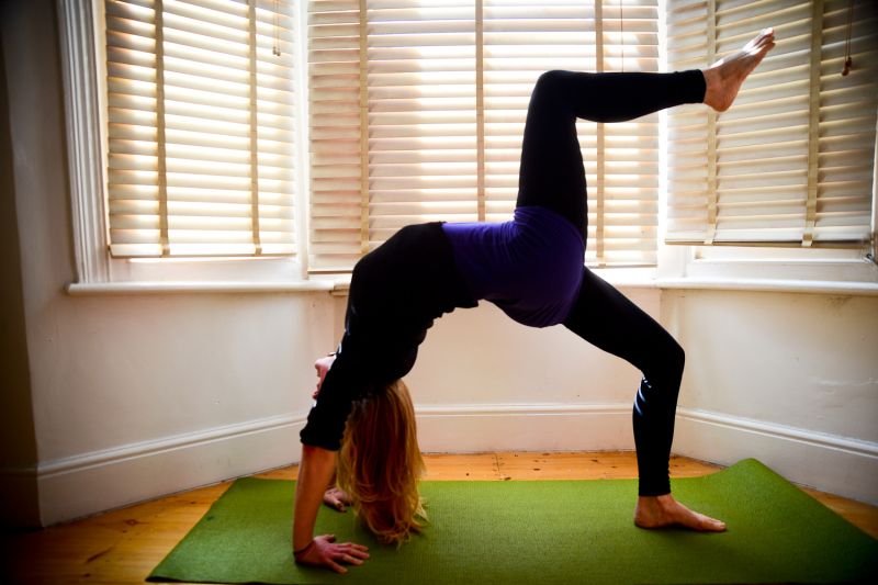 Sports fitness yoga photography Brighton & Hove