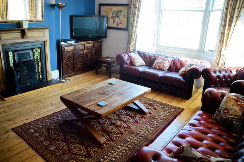 Brighton Living Room - Property Photography