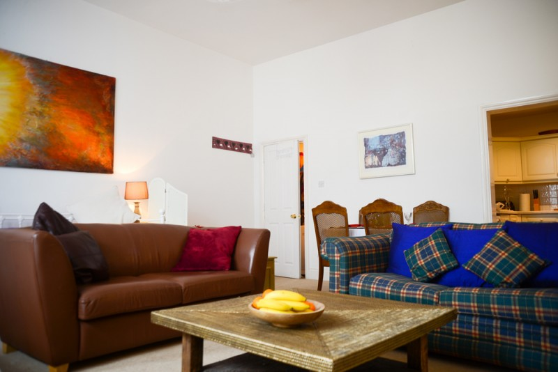 Brighton Holiday Flat Living Room - Property Photography