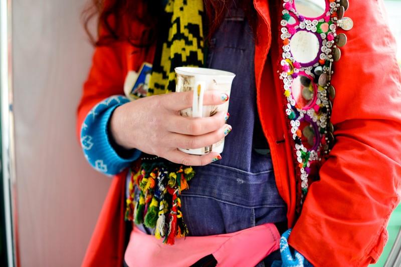 Delaine Le Bas Portrait by Amelia Shepherd