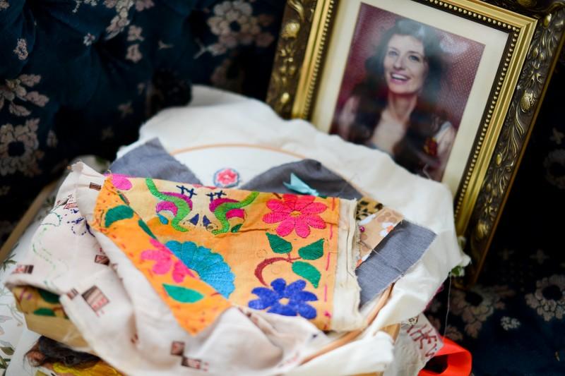 Delaine Le Bas Portrait of Portrait by Amelia Shepherd