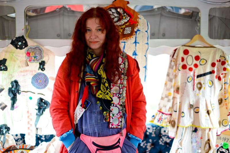 Delaine Le Bas Portrait Portrait by Amelia Shepherd