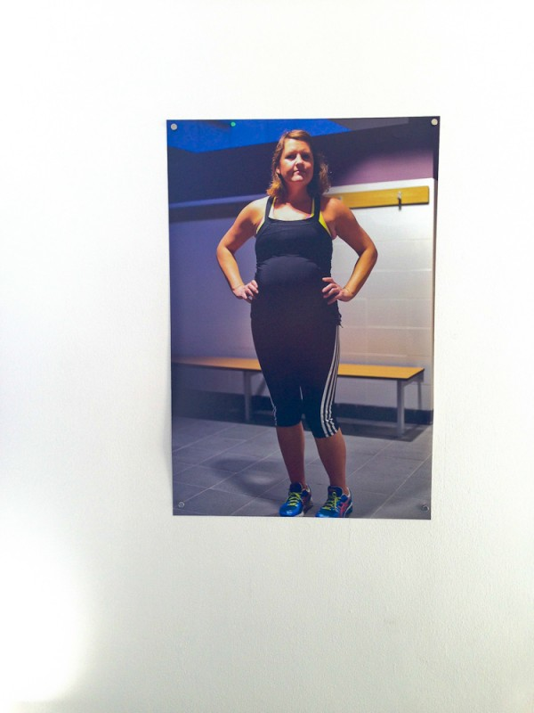 288 Days Installation Self Portrait at Gym