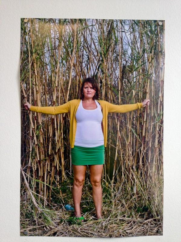 288 Days Installation Self Portrait in Yellow