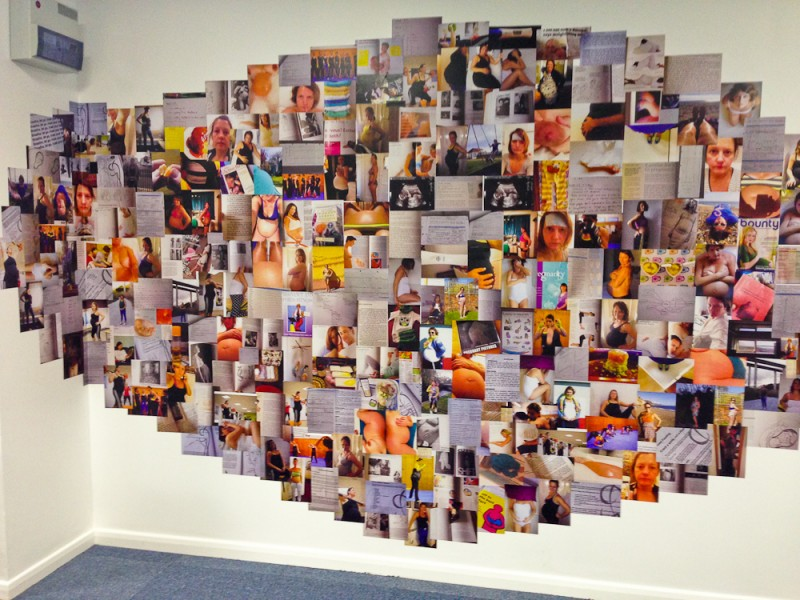 288 Days Wall of Images Montage