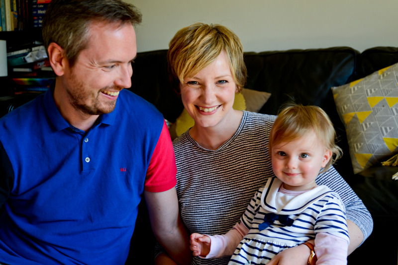 Family Portrait & Lifestyle Photography at home in Brighton