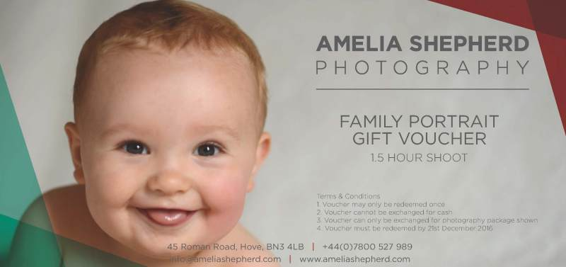 Brighton, Hove & Worthing Photography Gift Vouchers