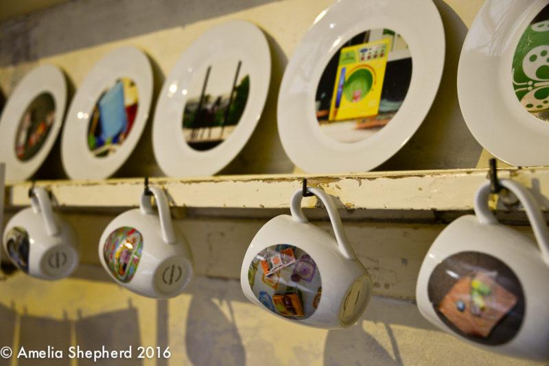 Detail -Installation in Regency Town House Kitchen by photographer Amelia Shepherd for Brighton Photo Fringe 2016