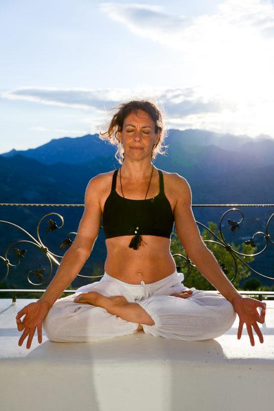Yoga Portrait Location Shoot
